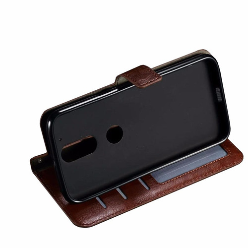 capa case flip cover carteira moto g4 plus xt1640 classica