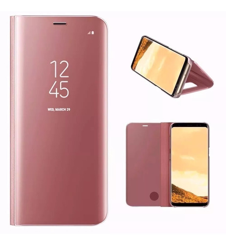 capa case flip espelhada celular samsung galaxy s7 edge 5.5