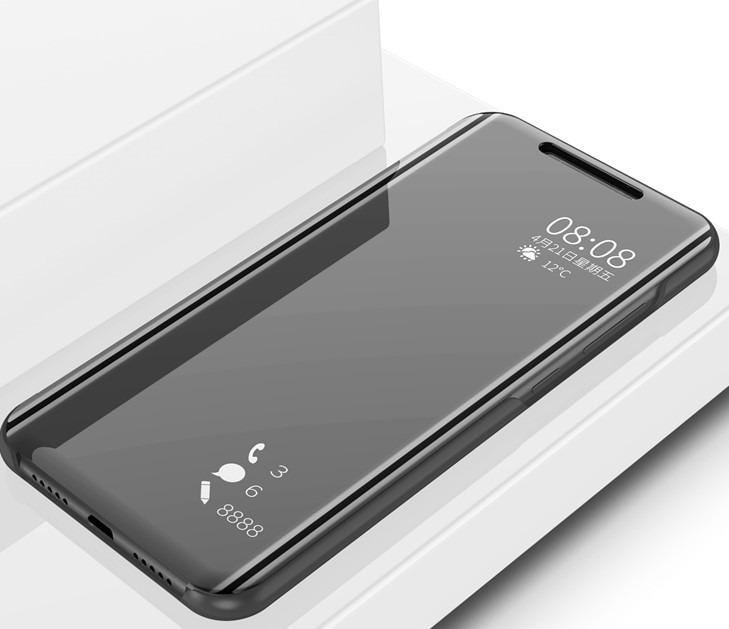 new arrival 34575 a5311 Capa Case Flip Smart Clear Mirror View Xiaomi Mi A2 Lite