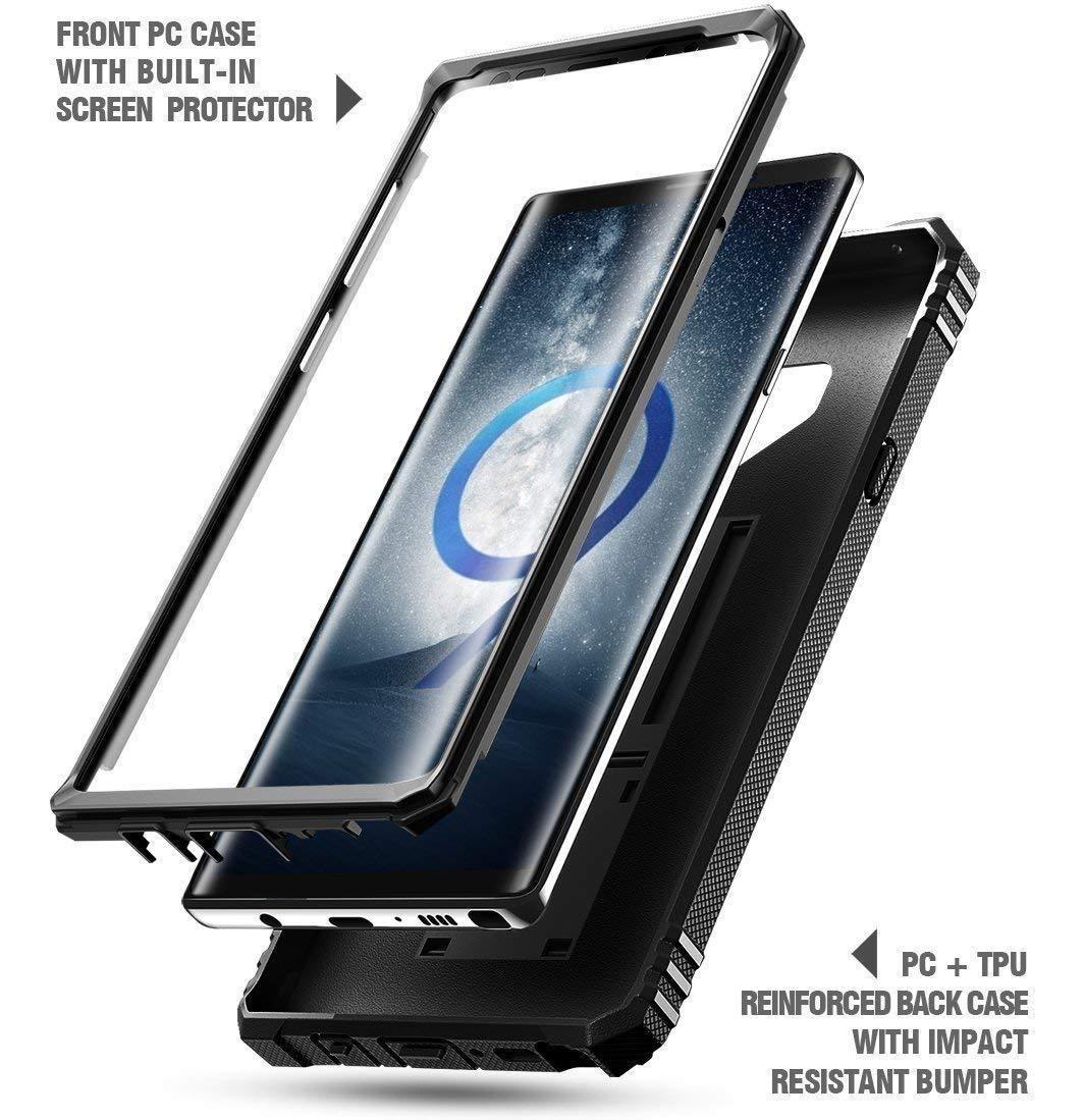 competitive price cc4f8 e7280 Capa Case Galaxy Note 9 Poetic Com Protecao Na Tela