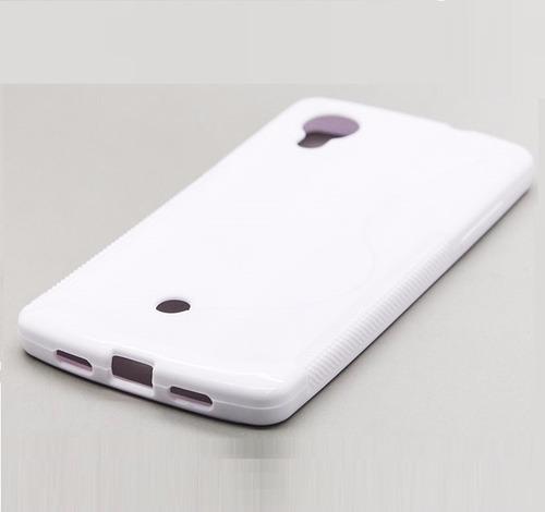 capa case gel tpu lg nexus 5 d820 d821 pelicula de plastico