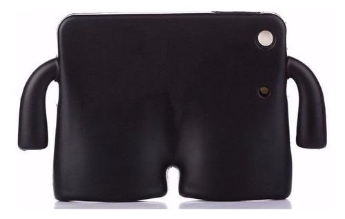capa case ibuy ipad 2 3 4 retina infantil + película vidro