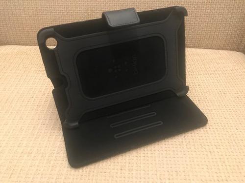 capa case ipad mini couro sintético stand belkin