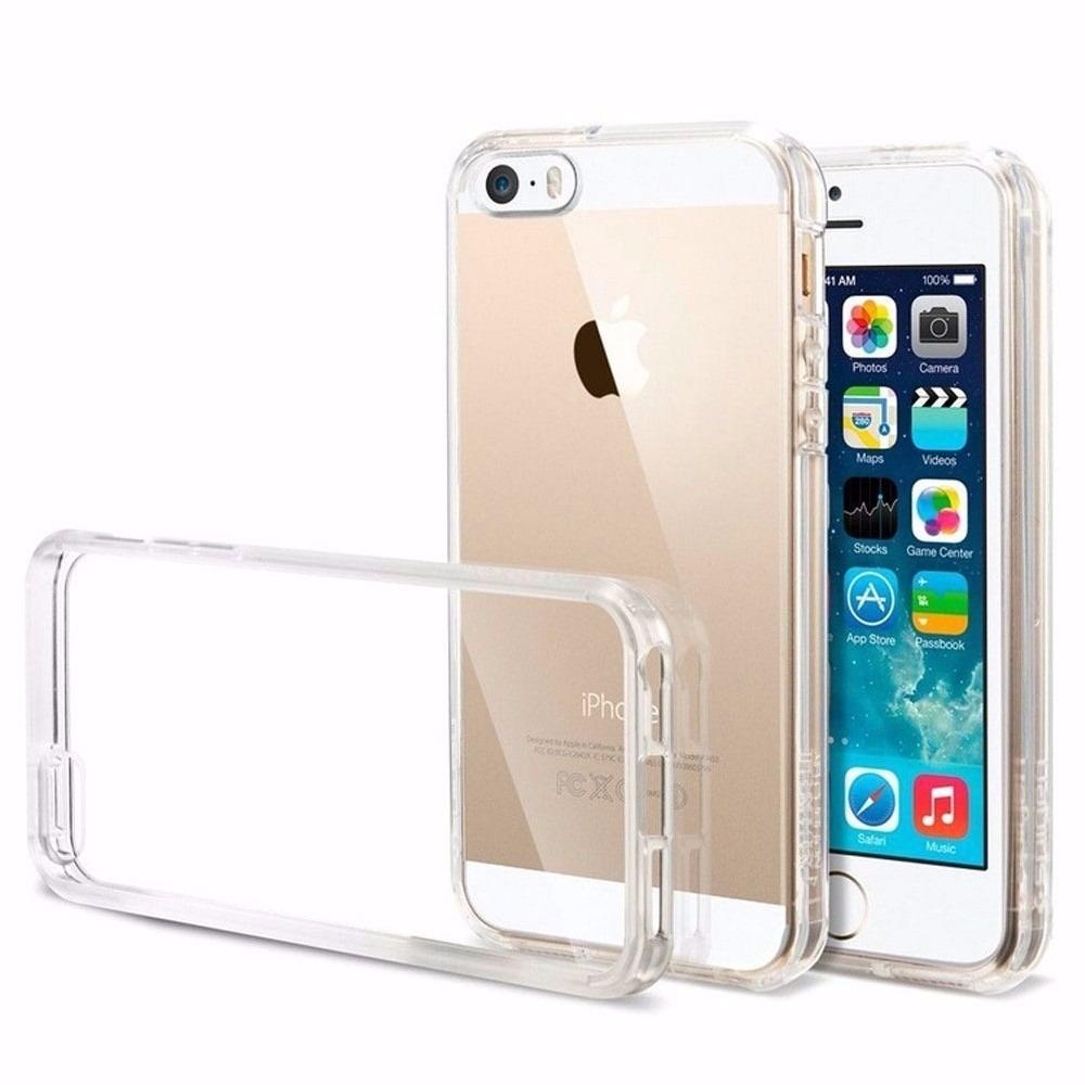 242bf5e18f6 capa case iphone 5 5s se transparente tpu flexível apple. Carregando zoom.