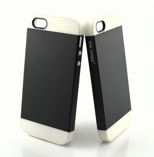 capa case iphone 5s / se anti impacto coloridas
