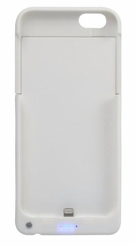 capa case iphone 6 6s 6se e carregador bateria externa