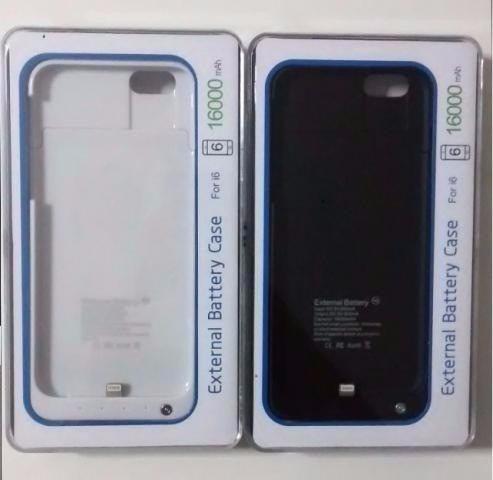 capa case iphone 6 carregador bateria externa recarregável