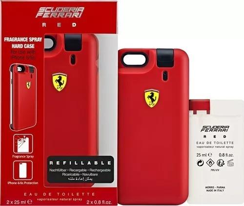 Capa Case Iphone 6s C Perfume Scuderia Ferrari Red 25ml R 150