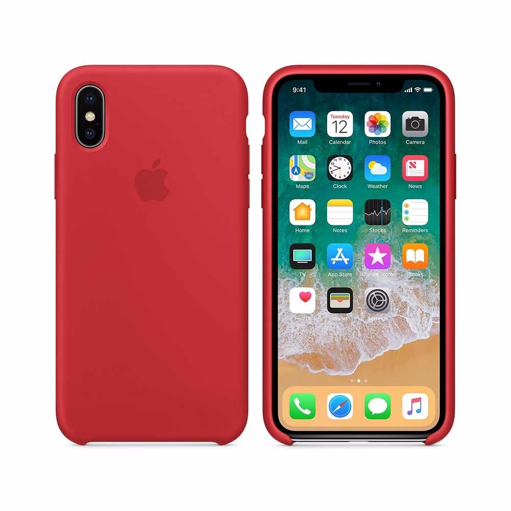 Capa Case Iphone X 10 Logo Apple Silicone Colorido - R  41,30 em ... 465e10a619