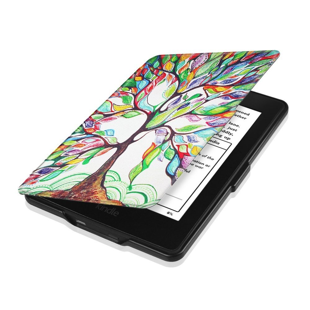 Capa Case Kindle Paperwhite Wb Ultra Leve Onoff Árvore - R ...