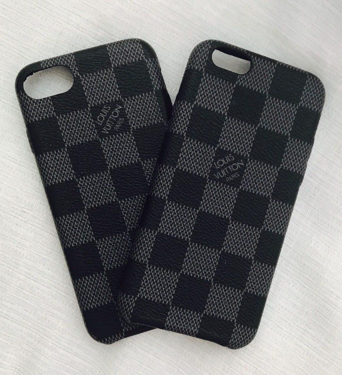 huge discount cd0d7 dfa0d Capa Case Louis Vuitton Damier iPhone 6 Plus E 6s Plus