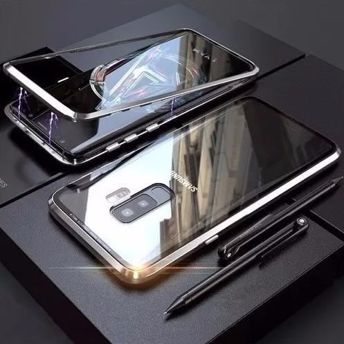 capa case magnética 360° s8 s8 plus s9 s9 plus note 8 note 9