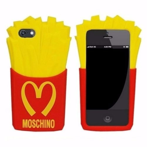 capa case mochino batata frita mc donald's iphone 4s &5s