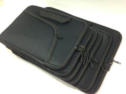 capa case notebook 17 polegadas preta - com bolso