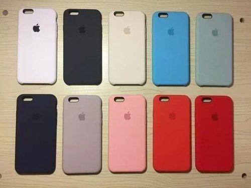 6f35b60df7f Capa Case Original iPhone 6 E 6s Laranja - R$ 59,90 em Mercado Livre