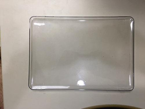 capa case para apple macbook pro 13 acrílico transparente