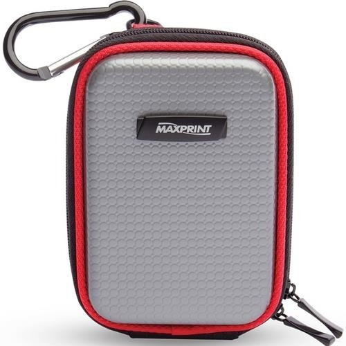 capa case para fone de ouvido, pen drive, rígida e com clip