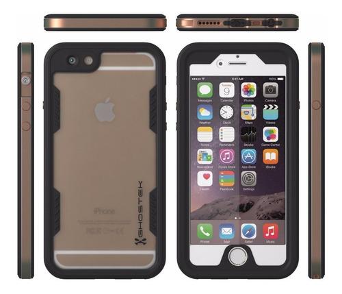 capa case para iphone 6 plus e 6s plus a prova d'água.