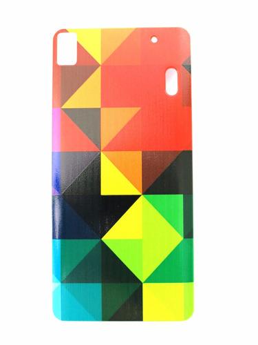 capa case para lenovo k3 note triângulos coloridos