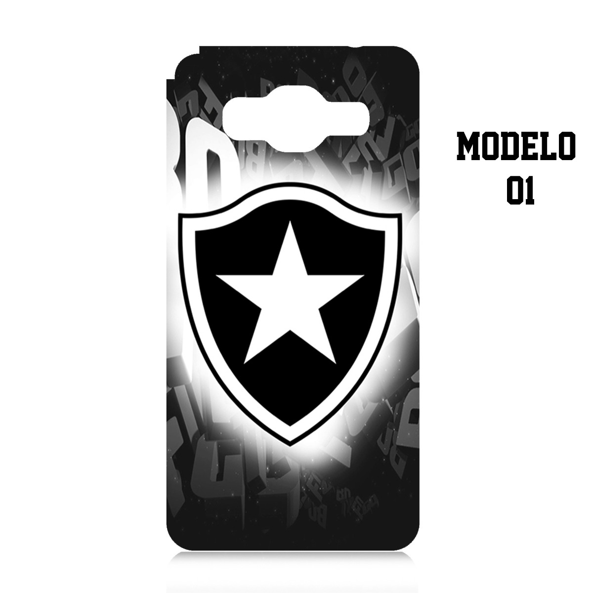 Capa Case Personalizada Botafogo Samsung Galaxy J5 J500 - R  29 ebad47e2d1d7c