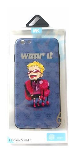 capa case protetor wk iphone 6 plus e 6s plus wear it