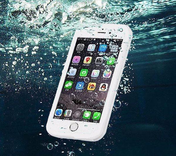 separation shoes 085a3 47593 Capa Case Prova D'água Waterproof iPhone 7 Plus Branca