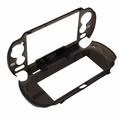 Capa case psvita transparente design prote o acr lico r 11 99 em mercado livre - Console transparente design ...