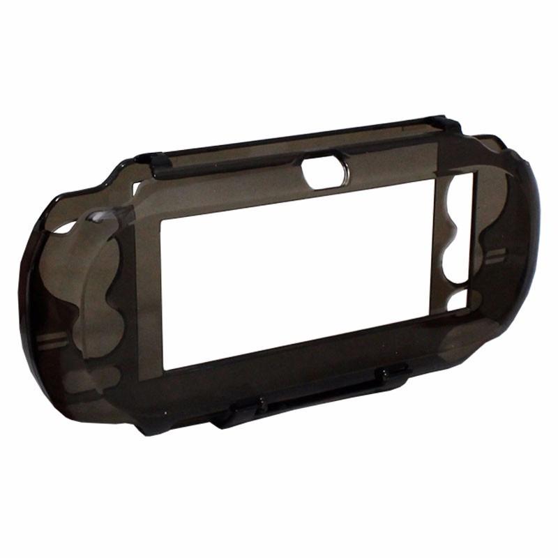 Capa case psvita transparente design prote o acr lico r 11 99 em mercado - Console transparente design ...