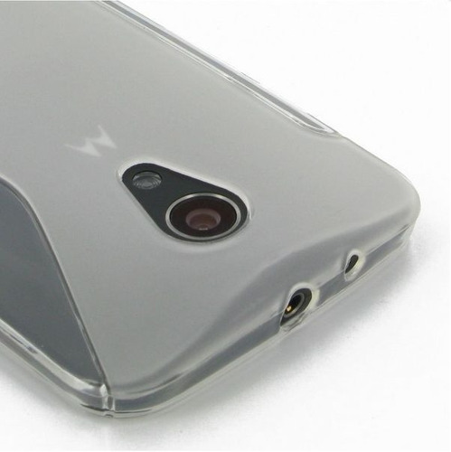 capa case s type para motorola moto g2 - transparente