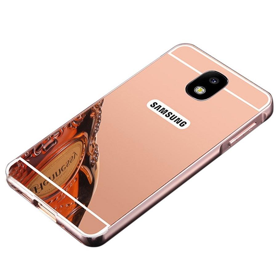 100788c23 capa case samsung galaxy j7 pro 2017 bumper espelhada rosa. Carregando zoom.