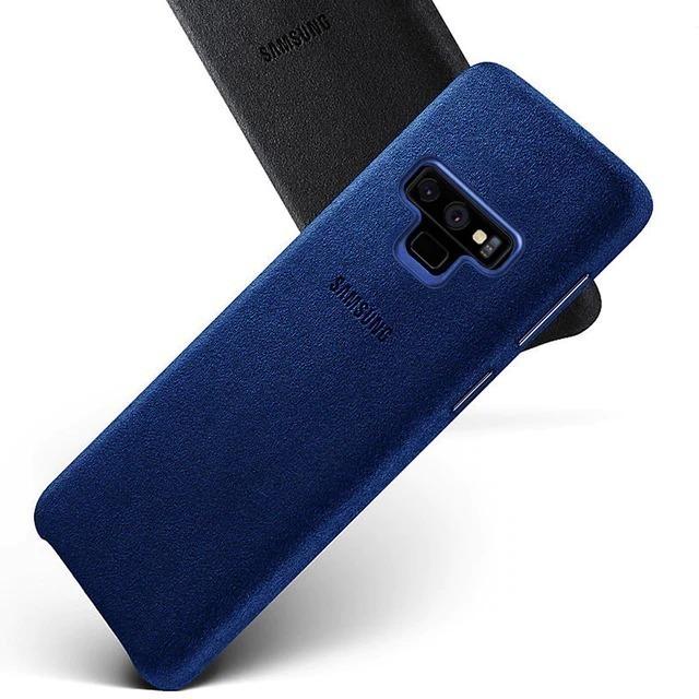 size 40 3b6f1 af912 Capa Case Samsung Galaxy Note 9 Alcantara Cover + Pelícu Gel