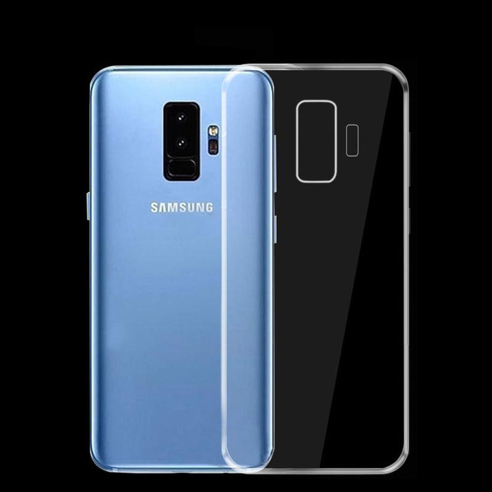 a5e911fb9e5 Capa Case Samsung Galaxy S9 + Plus Transparente Silicone - R$ 15,90 em  Mercado Livre