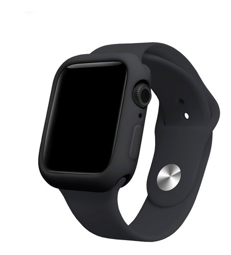 capa case silicone compatível apple watch 38/40/42/44mm