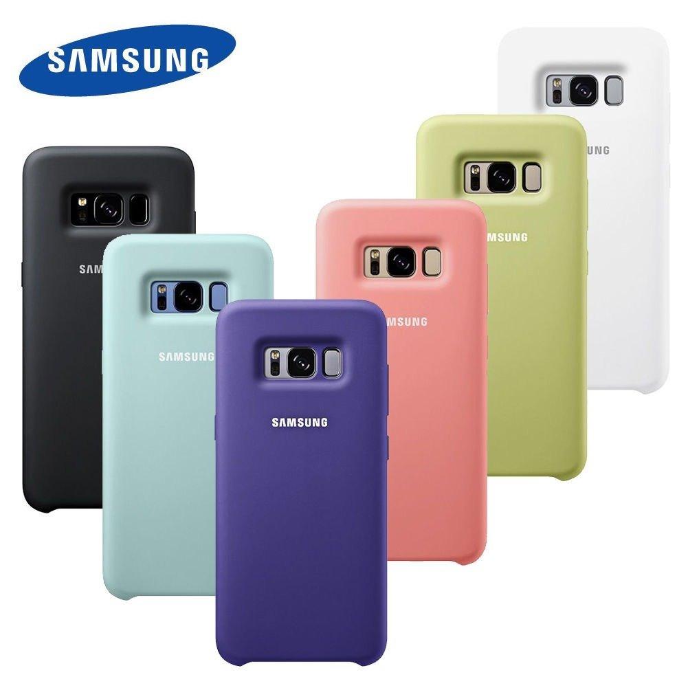 Capa Case Silicone Cover Original Samsung Galaxy S8 Plus R 120 Casing For Carregando Zoom