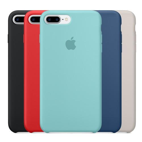capa case silicone iphone 6 6s 7 8 plus x xr xs max original