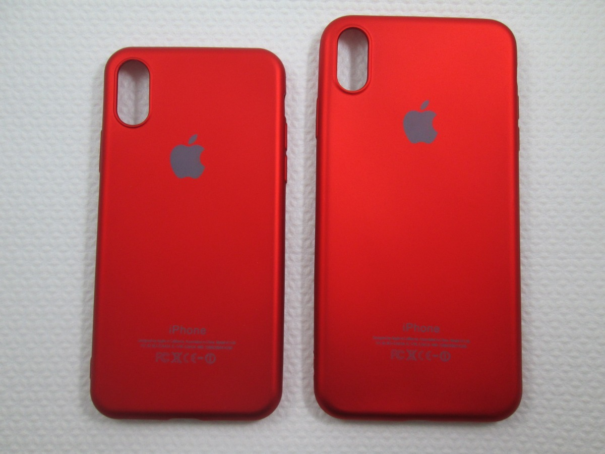 newest 5e3c9 09db7 Capa Case Silicone Logo Product Red iPhone Xs Xr Xs Max
