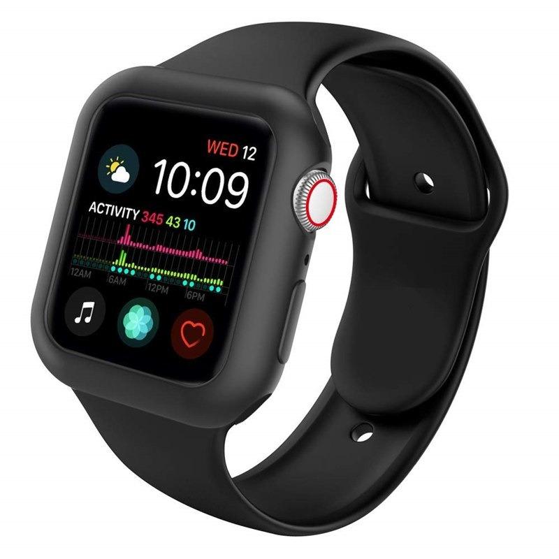 1ba784974df Capa Case Silicone Para Apple Watch+pulseira 38 40 42 44mm - R  54 ...