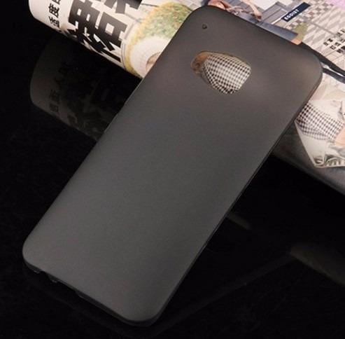 capa case silicone tpu ultra fina htc m9 one pelicula gratis