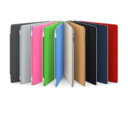 capa case smart cover + capa traseira apple ipad 2 protetora