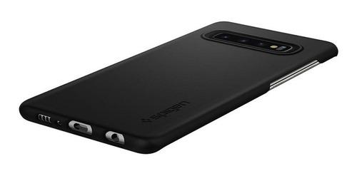 capa case spigen | samsung galaxy s10 6.1 | thin fit black