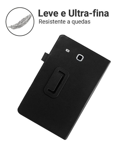 capa case tablet samsung galaxy tab e 9.6 t560 t561 + caneta