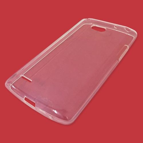 capa case tpu lg l80 d385 + película vidro temperado