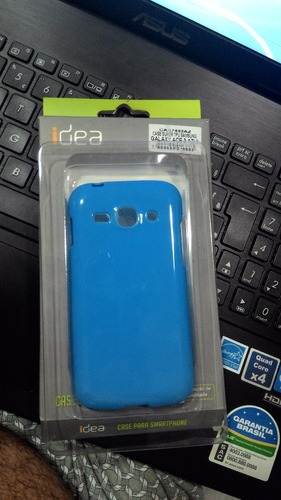 capa case tpu samsung galaxy ace 3 azul