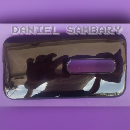 capa case tpu silicone fume+película de vidro moto g3 xt1543