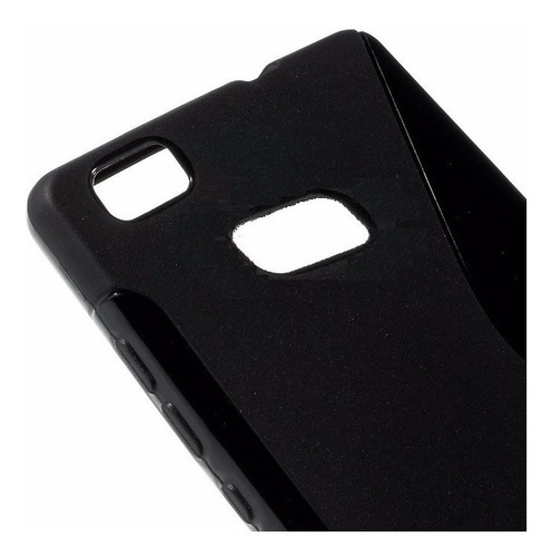 capa case tpu silicone huawei p8 pelicula de plastico gratis