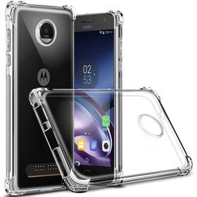Capa Case Transparente Anti Impacto Motorola Moto Z2 Play
