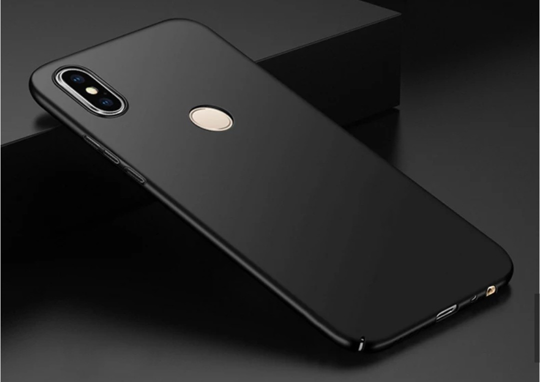 online retailer 63c3b 320a1 Capa Case Xiaomi Mi Mix 2s Rigida Slim Black Preta