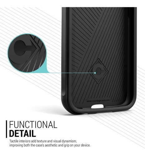 capa caseology galaxy s6 wavelengh series original importado