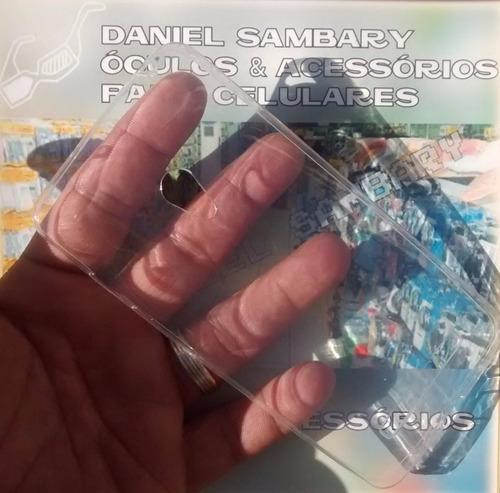 capa casquinha de ovo ultra fina zenfone 5 + pelicula vidro