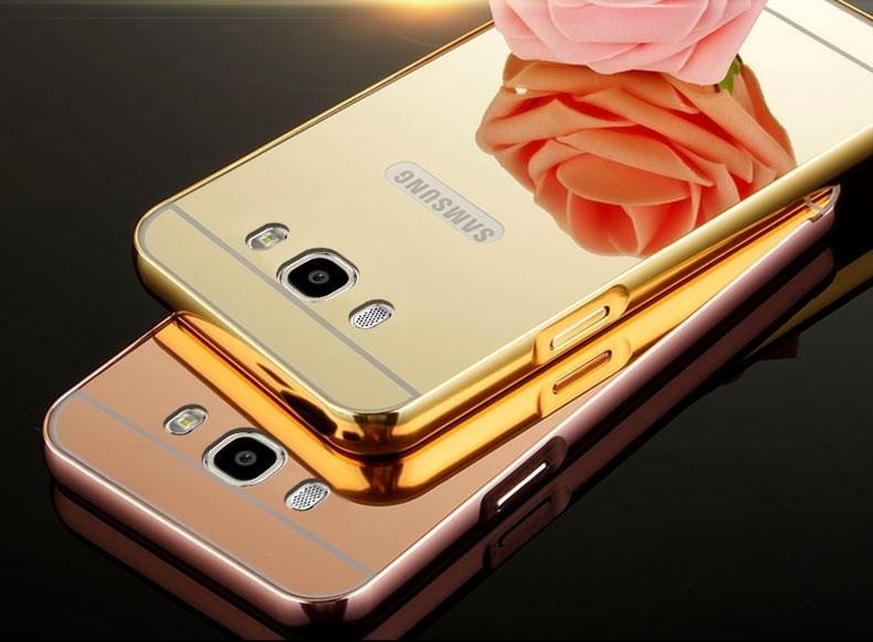 capa aluminio espelhada celular samsung galaxy j7 2016